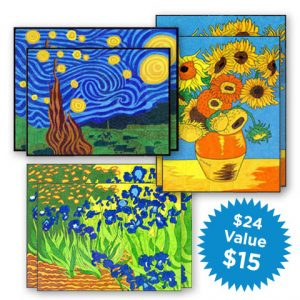 van gogh children's art activities