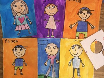 Self Portrait Drawing for Kids