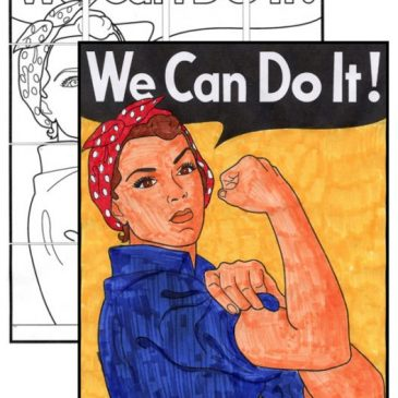 "Free ""We Can Do It!"" Mini Mural"