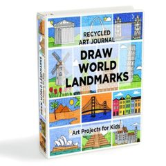 Draw World Landmarks 3-5
