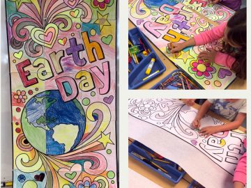 Earth Day Murals in the Classroom