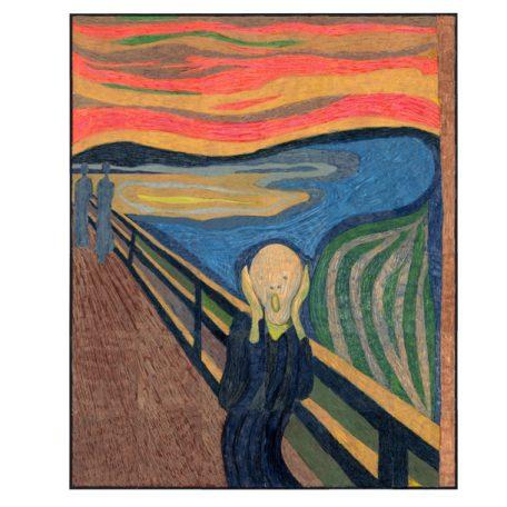 The Scream art lesson