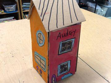 Cardboard Craft Building