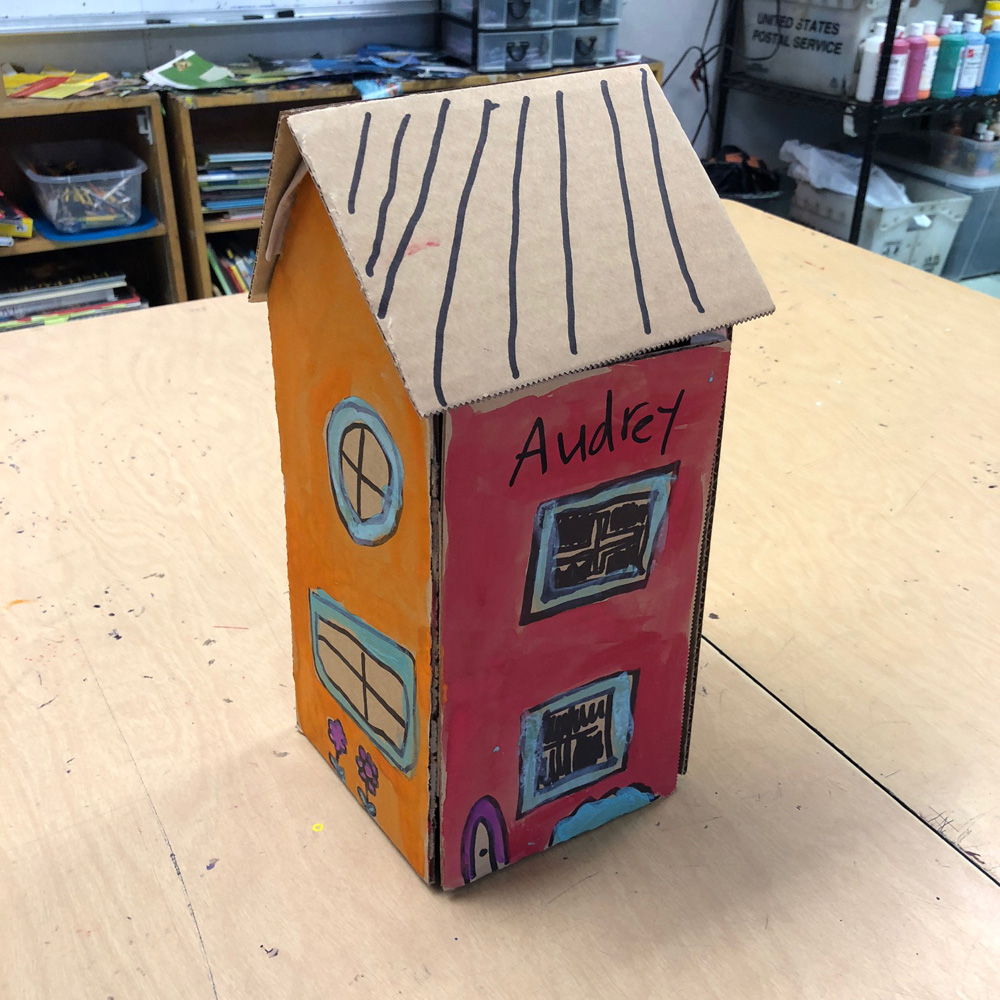 Cardboard Craft Building Art Projects For Kids