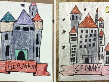 Drawing German Castles