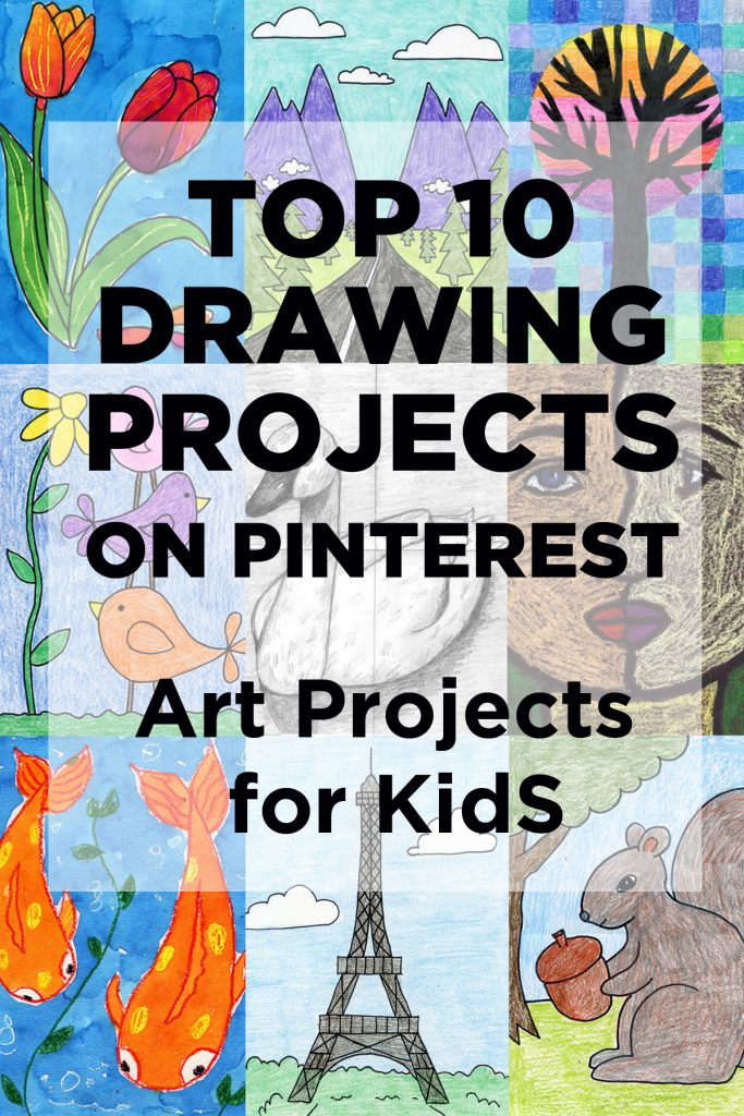 top drawing projects for kids