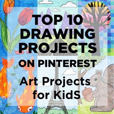 Top Ten Drawing Projects On Pinterest