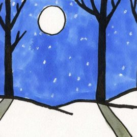 winter art projects for elementary students