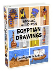 How to draw ancient egyptian art