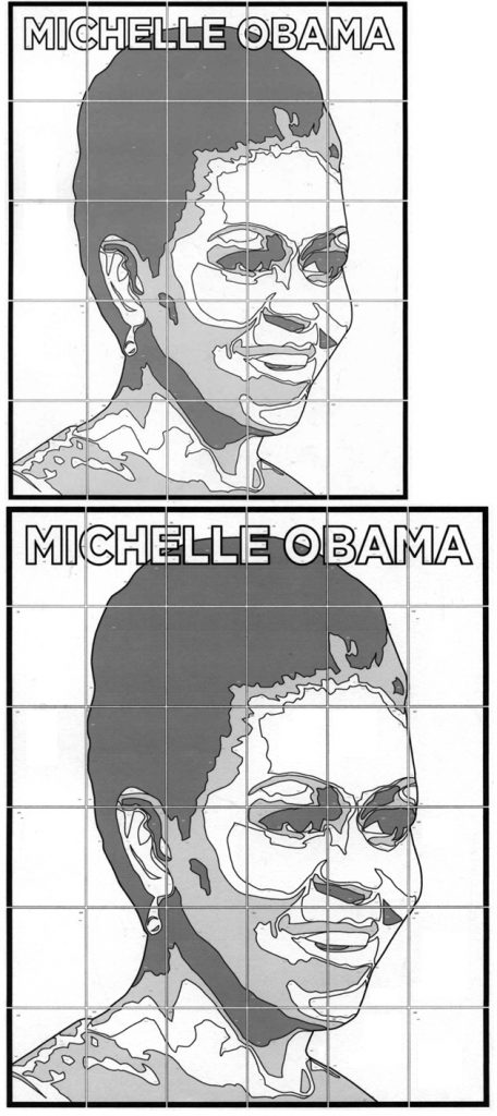 Michelle Obama art project