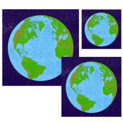 Mini Blue Planet Murals