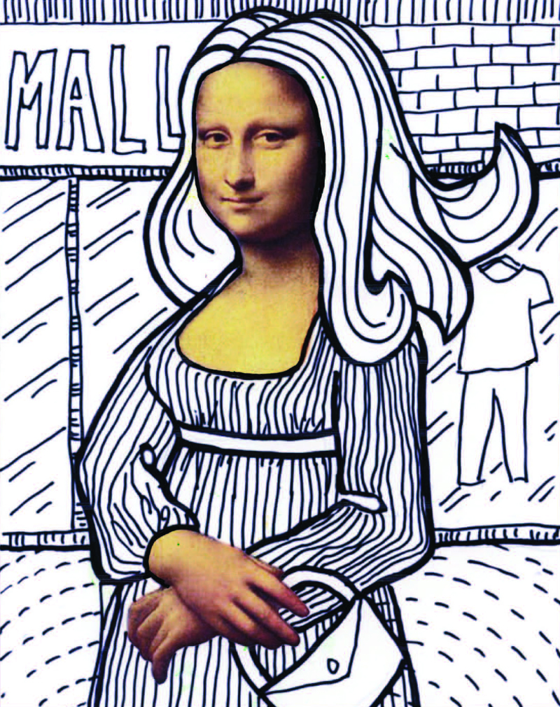 Mona Lisa art project