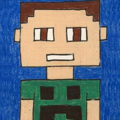minecraft art project