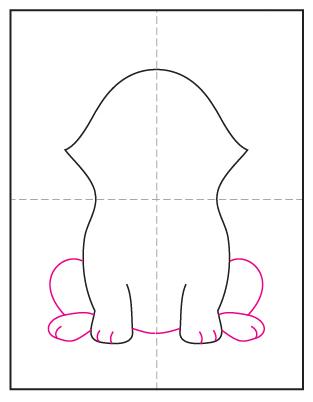 How to Draw a Corgi Dog