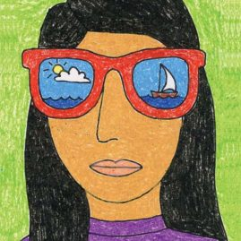 self portrait ideas for elementary students