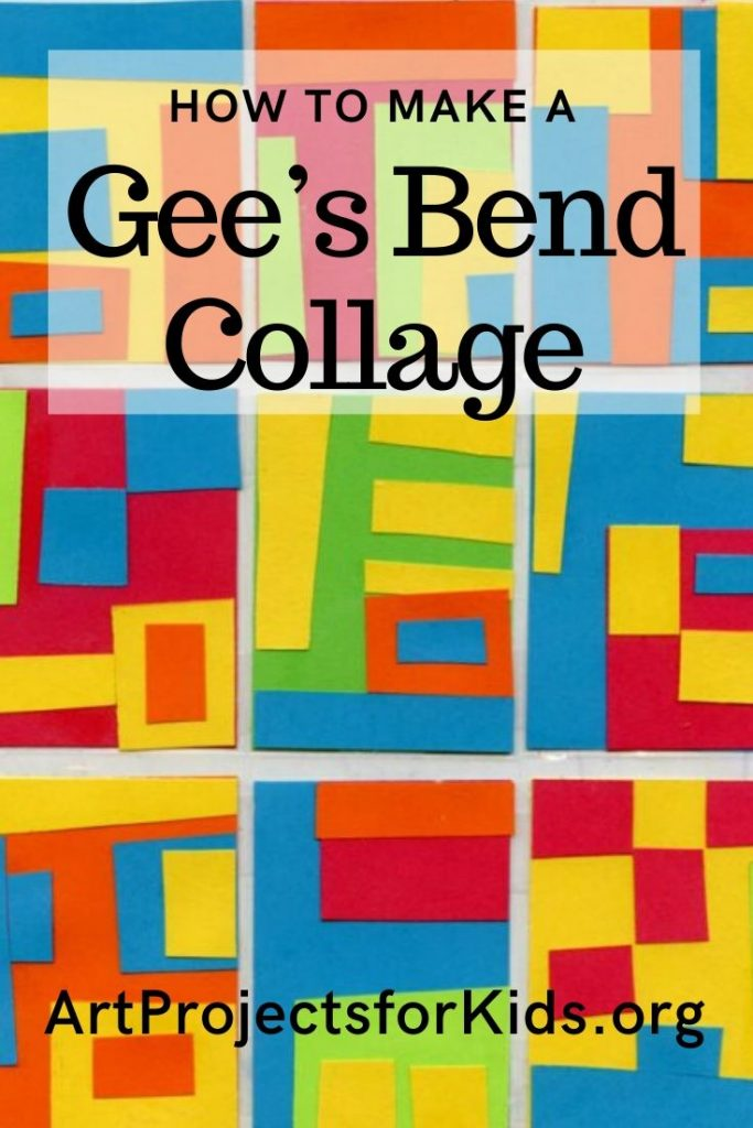 Gee S Bend Quilt Collage 183 Art Projects For Kids