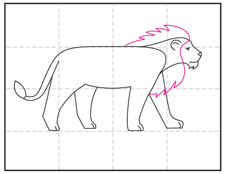 How To Draw A Lion Art Projects For Kids Download 56 lion outline free vectors. how to draw a lion art projects for kids