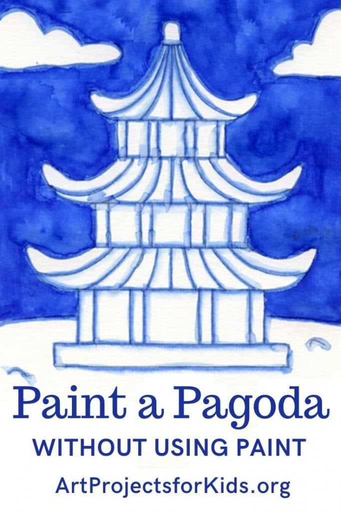 Easy Pagoda Painting