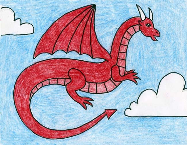 How To Draw All Kinds Of Dragons Art Projects For Kids