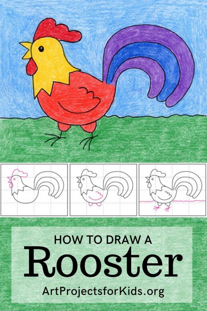 Rooster Pin Art – Activity Craft Holidays, Kids, Tips