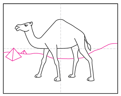 How To Draw A Camel Art Projects For Kids