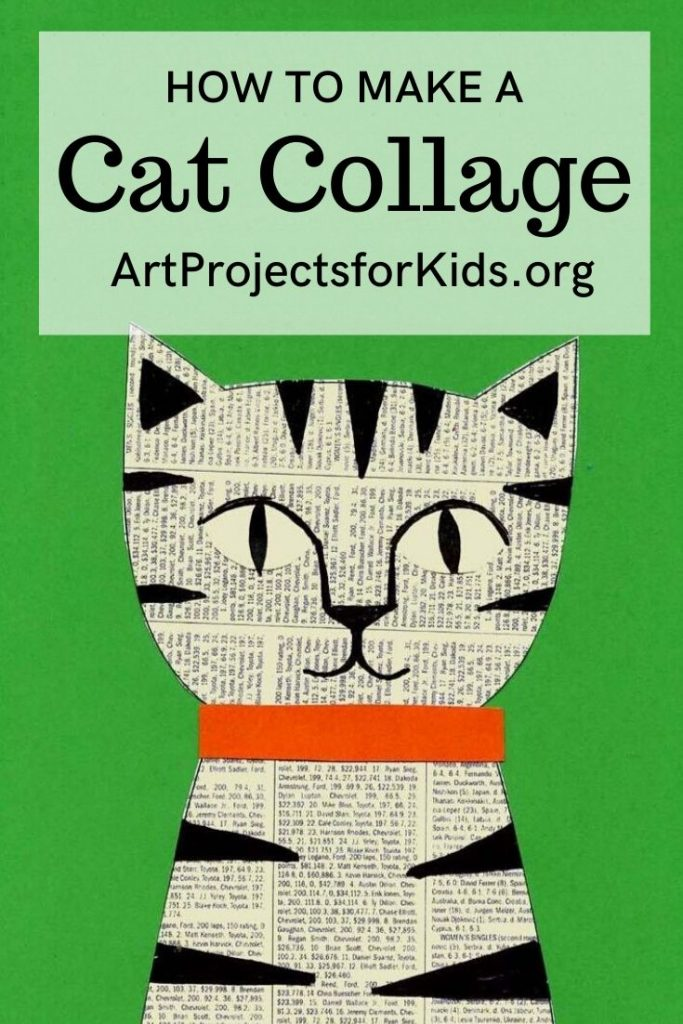 Cat Collage pin – Activity Craft Holidays, Kids, Tips