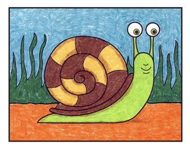 Snail 9 – Activity Craft Holidays, Kids, Tips