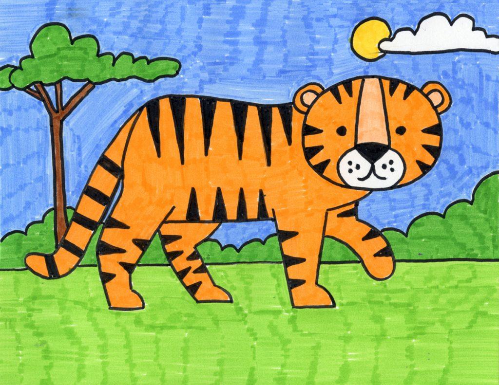 Tiger – Activity Craft Holidays, Kids, Tips