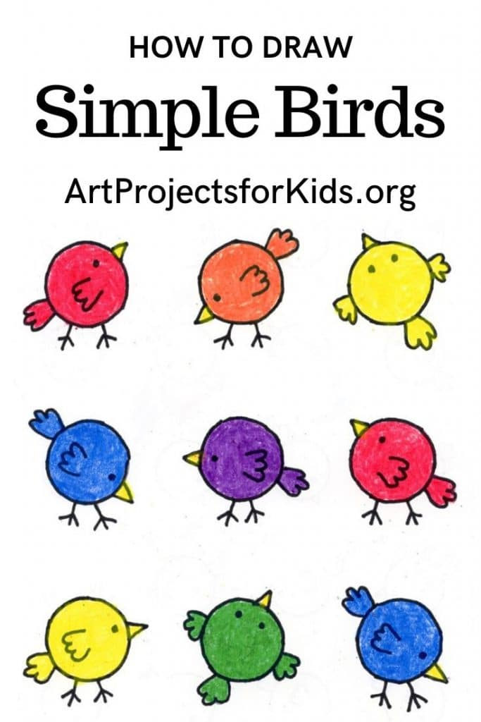 Super Easy Drawing For Kids Art Projects For Kids