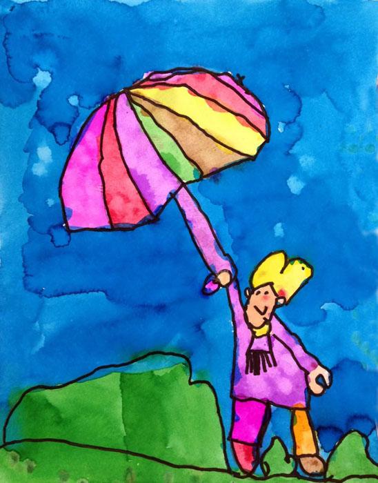 Veronica Umbrella girl 700 – Activity Craft Holidays, Kids, Tips