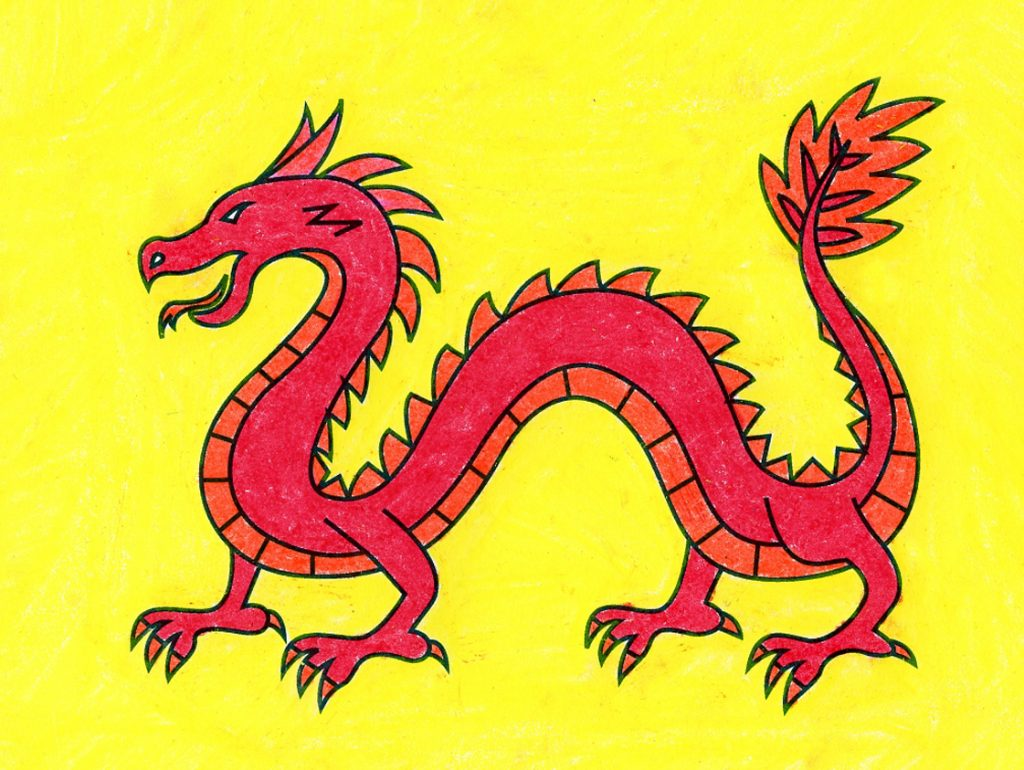 How to Draw a Chinese Dragon