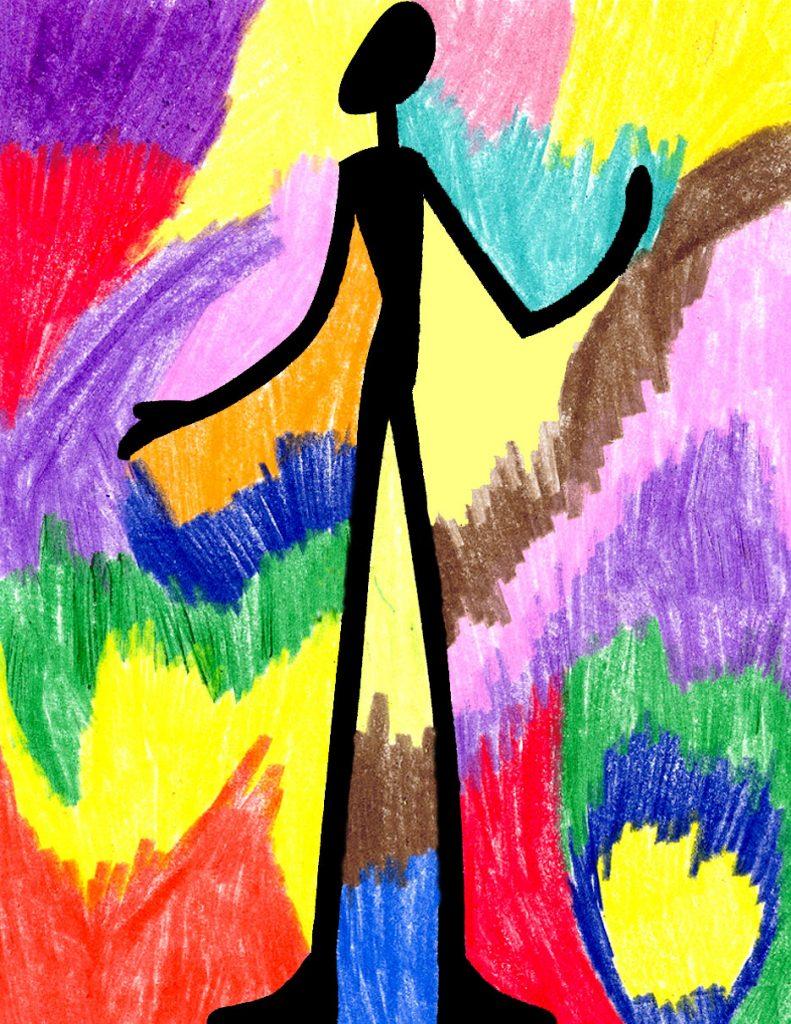 how to draw like Giacometti