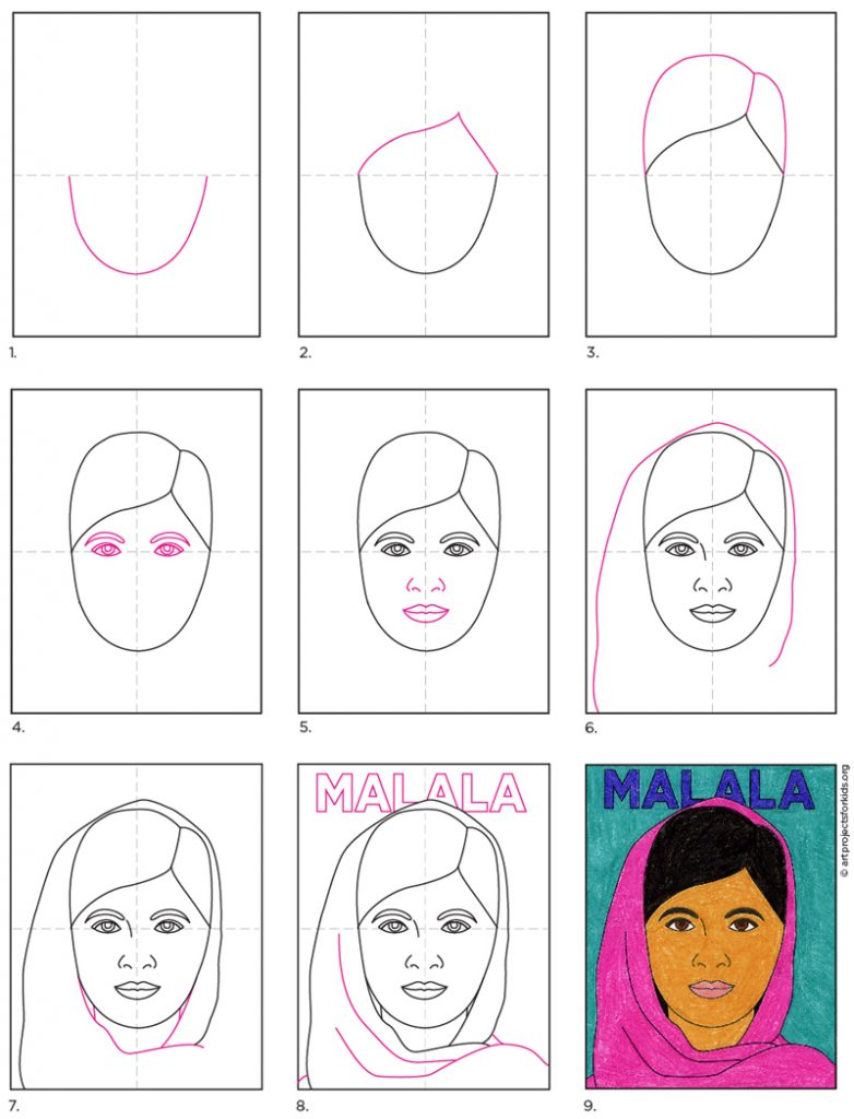 How to Draw Malala