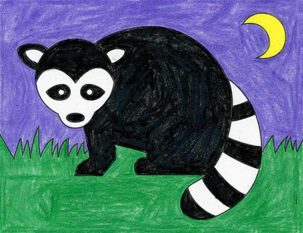 Raccoon – Activity Craft Holidays, Kids, Tips