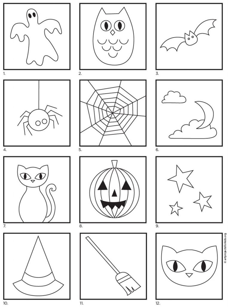 How to Draw Halloween Things