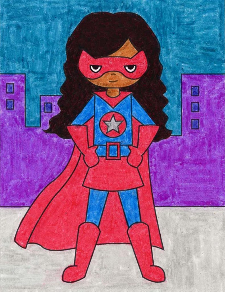 Supergirl – Activity Craft Holidays, Kids, Tips