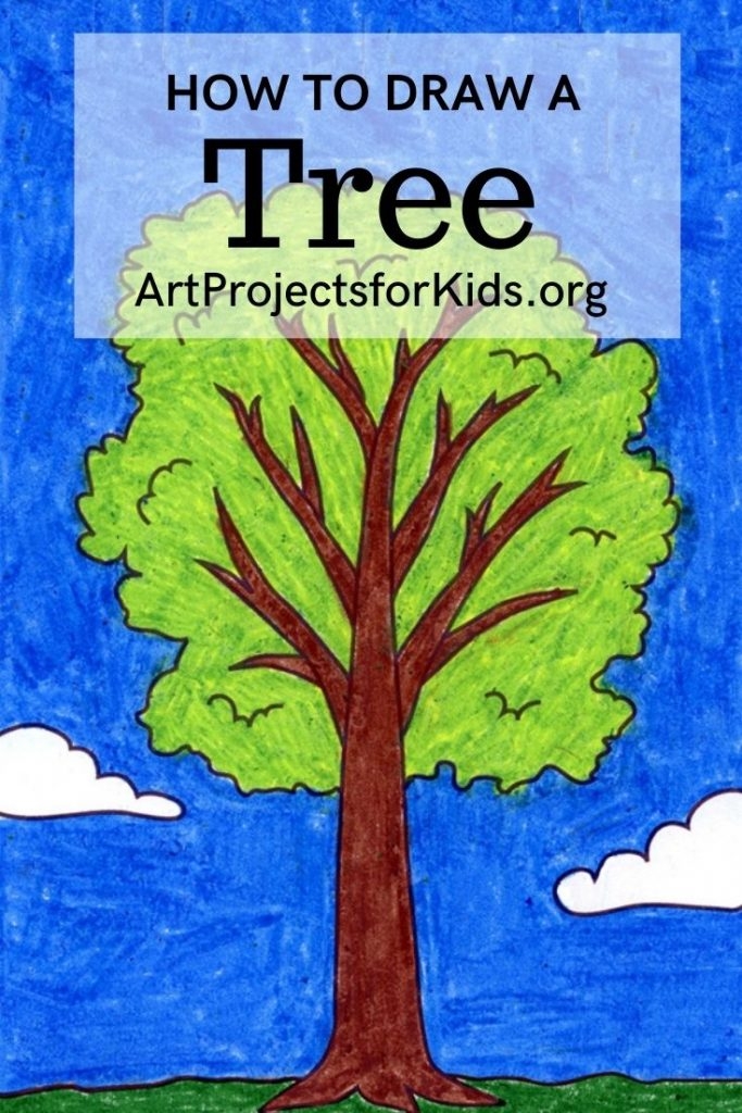How To Draw A Tree Art Projects For Kids Download clker's cartoon tree clip art and related images now. how to draw a tree art projects for kids