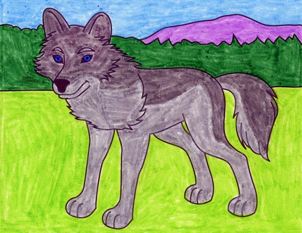 Wolf – Activity Craft Holidays, Kids, Tips