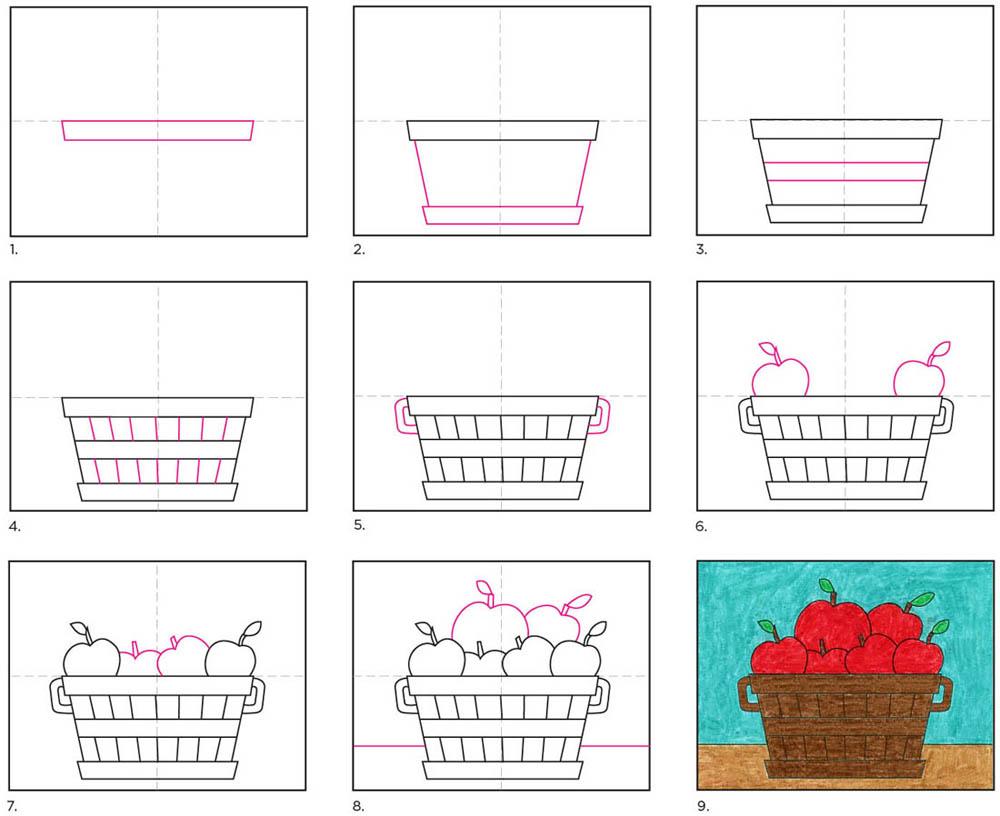 Draw a Bushel of Apples