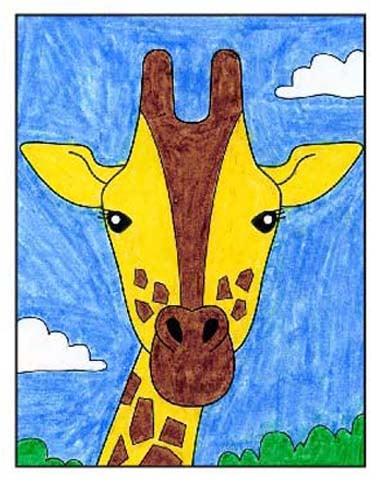 Giraffe 9 – Activity Craft Holidays, Kids, Tips