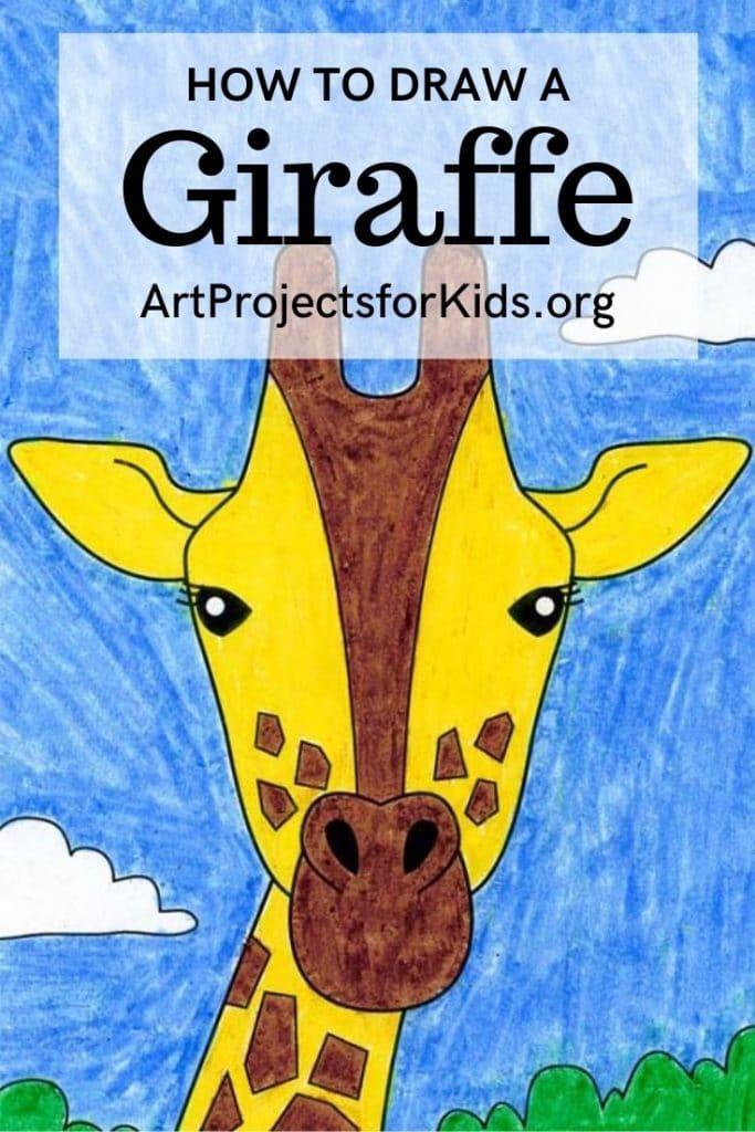 Giraffe for Pinterest – Activity Craft Holidays, Kids, Tips
