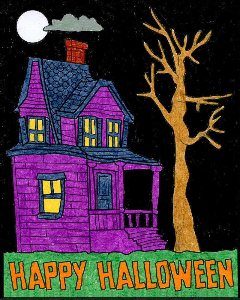 Mini Haunted House – Activity Craft Holidays, Kids, Tips