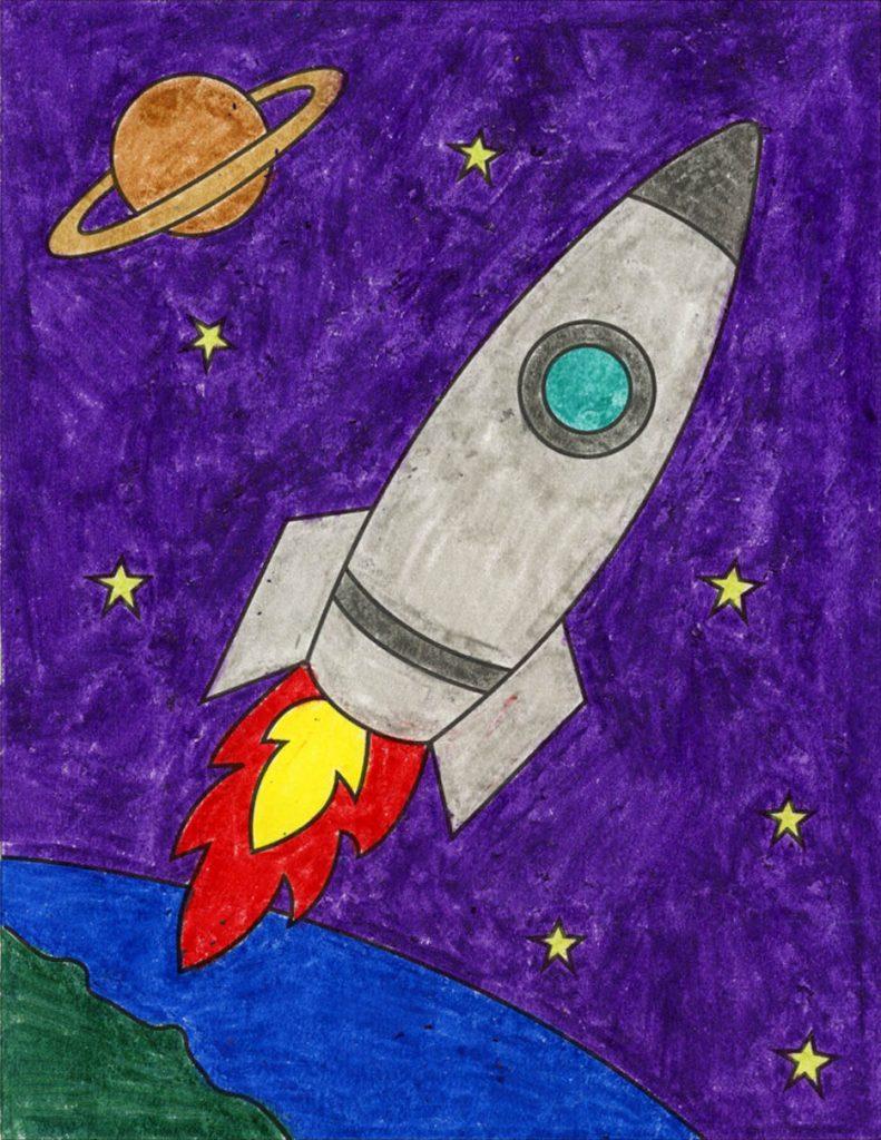 Rocket – Activity Craft Holidays, Kids, Tips