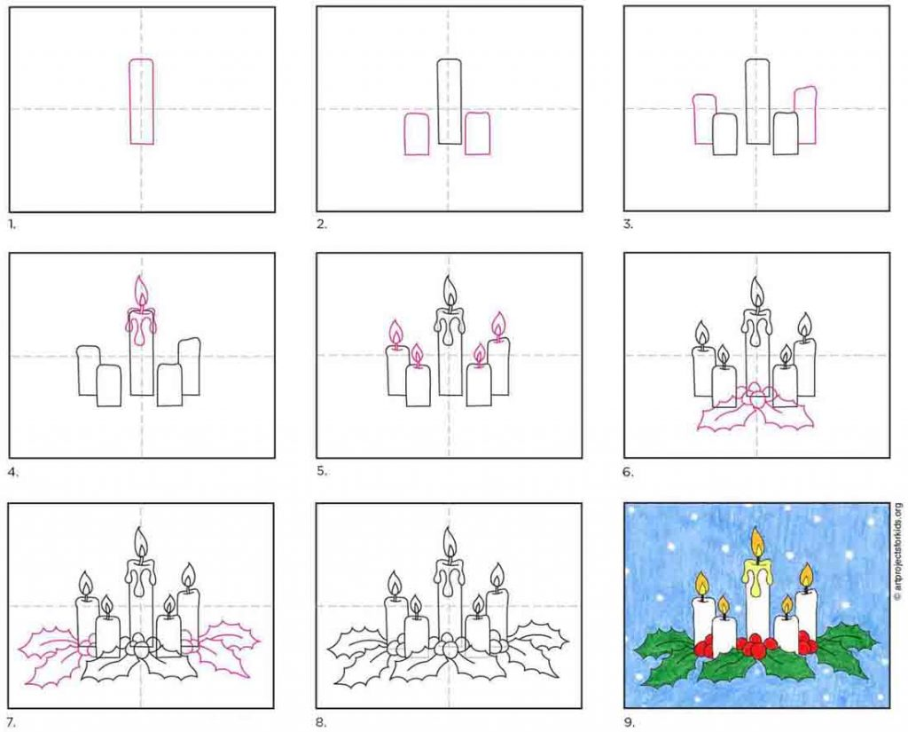 How to Draw Candles