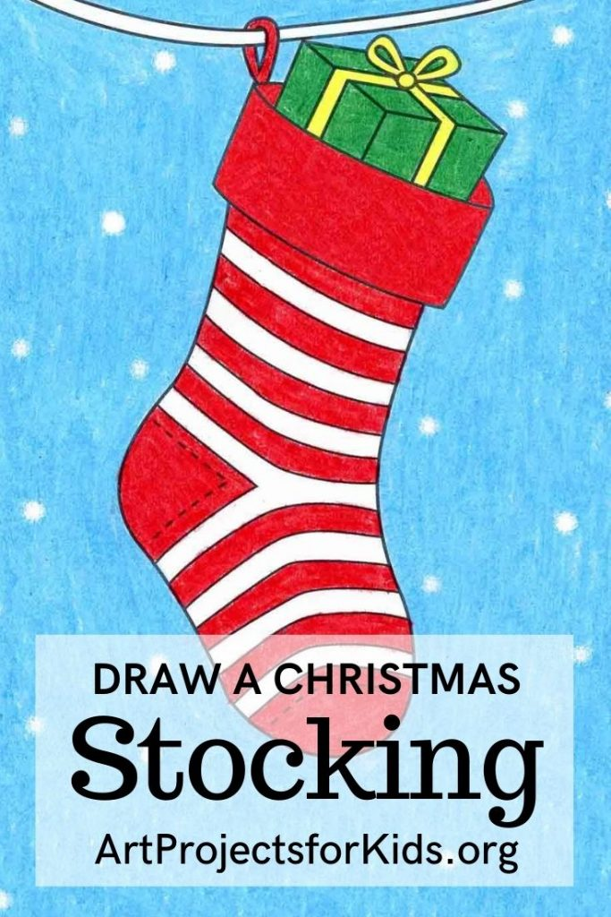 how-to-draw-a-christmas-stocking