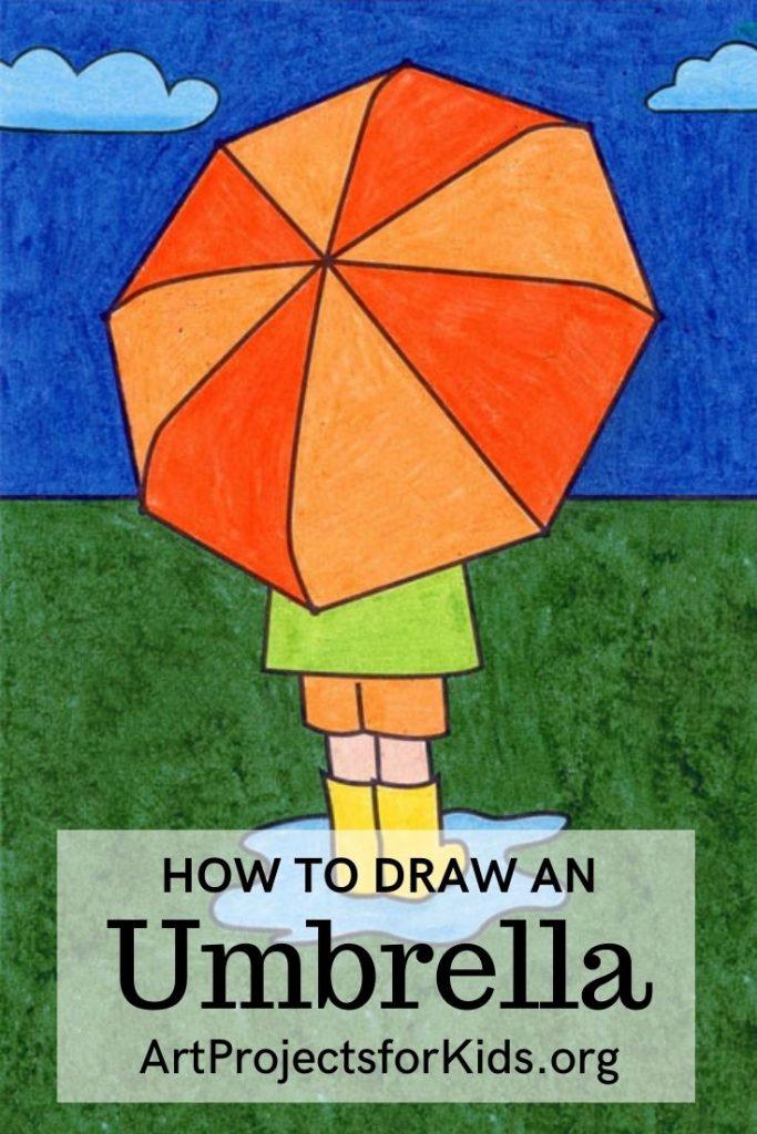 Umbrella for Pinterest – Activity Craft Holidays, Kids, Tips