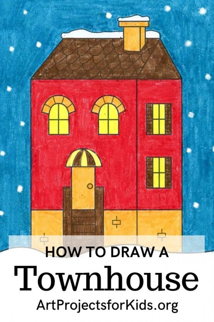How to Draw a Townhouse