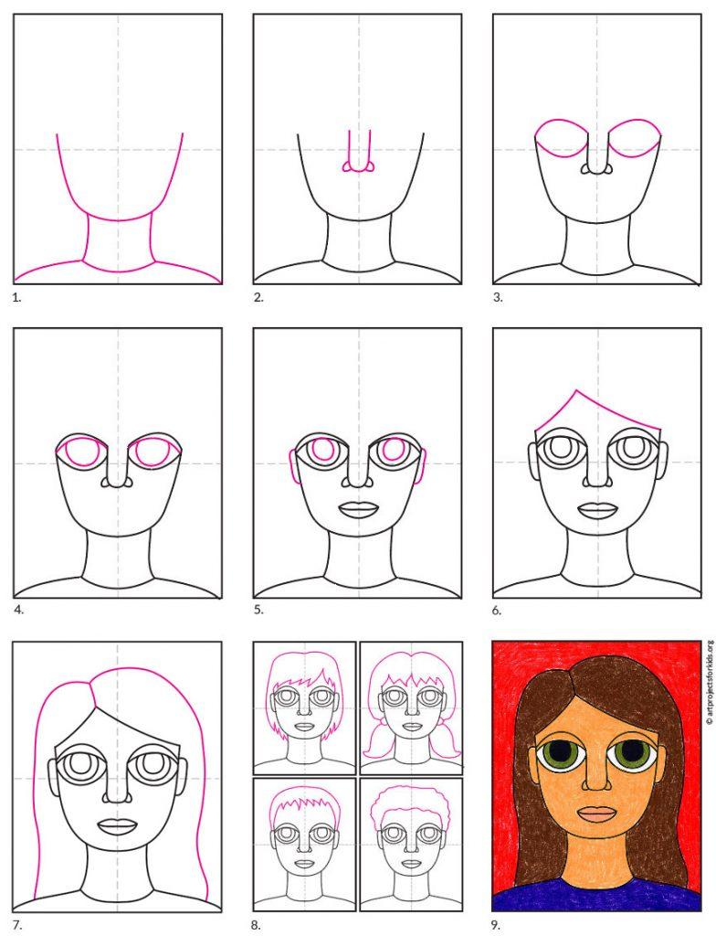 Draw a Self Portrait