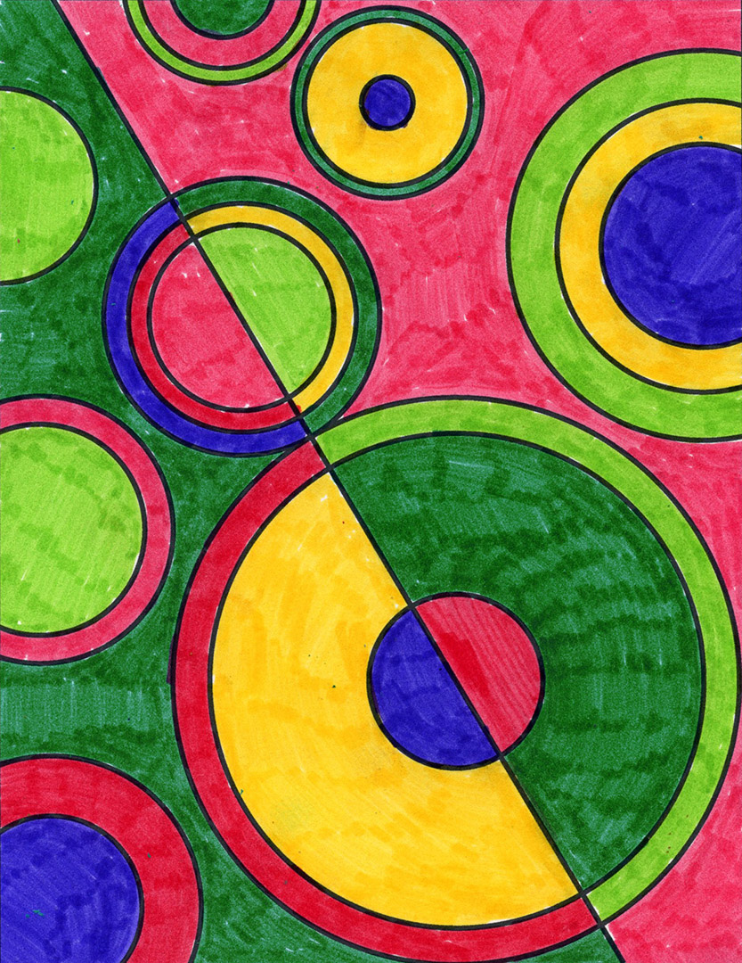 Delaunay Art Project · Art Projects for Kids