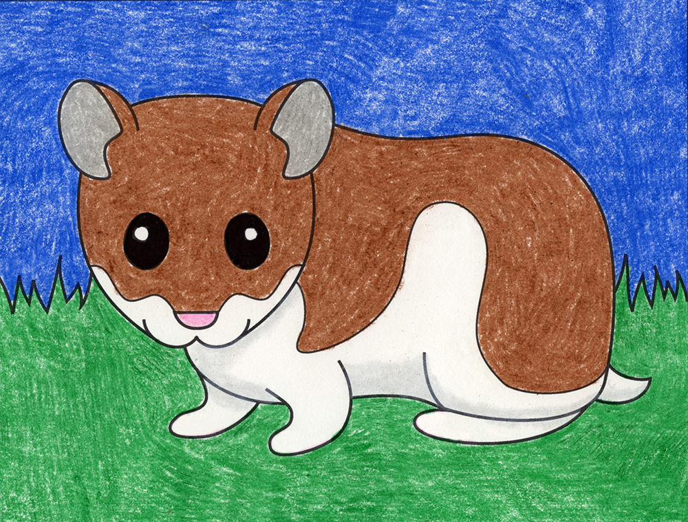 Draw a Hamster – Activity Craft Holidays, Kids, Tips